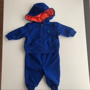 Ralph Lauren Baby Boys French Terry Hoodie & Pant